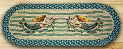 Mermaid Oval Patch Runner