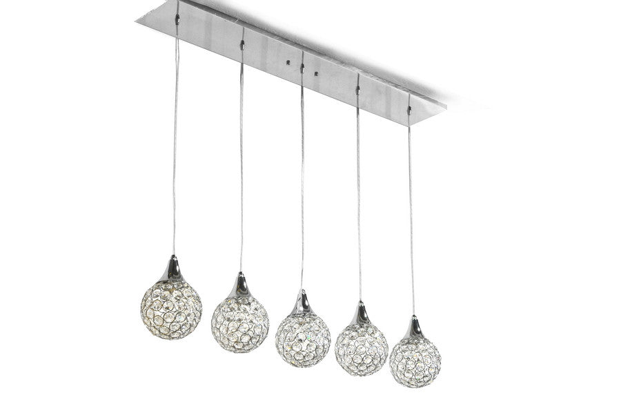 Baxton Studio Reba Ceiling Light Fixture