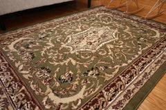 Isfahan Medallion Area Rugs