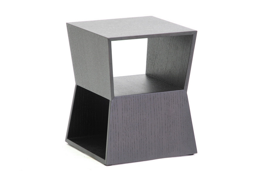 Baxton Studio Marche Black Wood  End Table