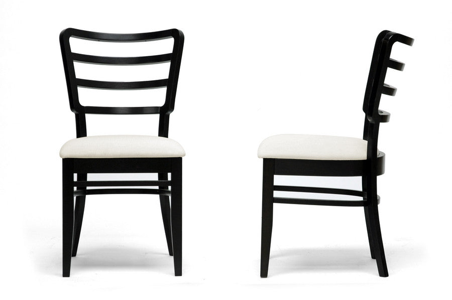 Baxton Studio Coventa Modern Dining Chair in Set of 2