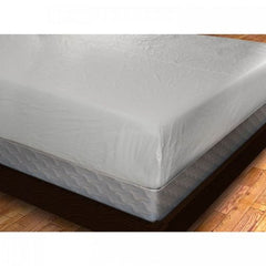 King Size Fitted Vinyl Mattress Cover, Twin Full Queen King