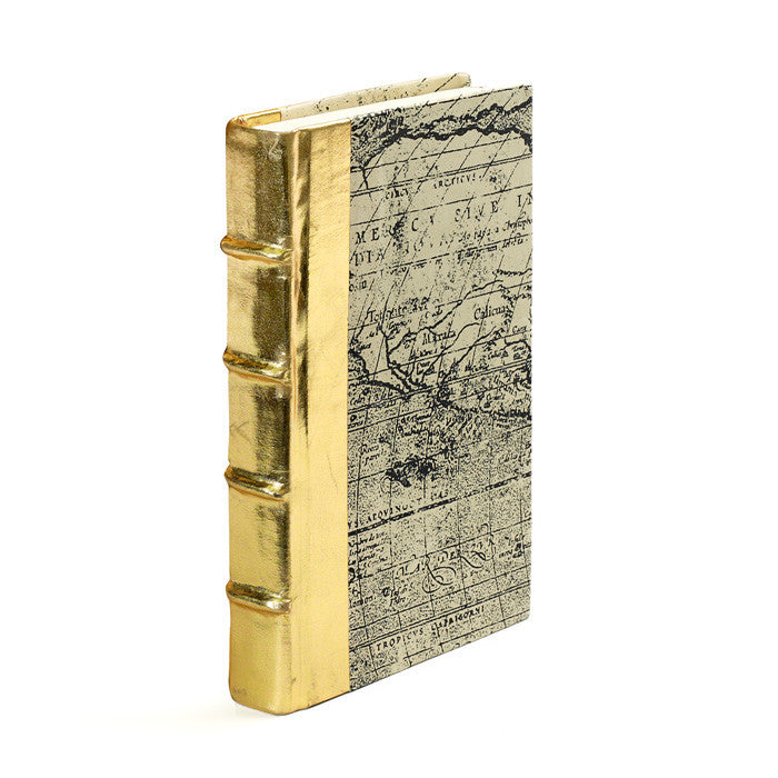 Single Metallic Gold Book