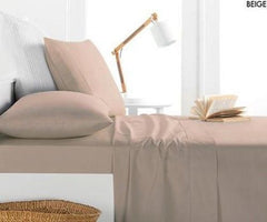 Allure Satin Collection 800 Thread 4pc Sheet Set