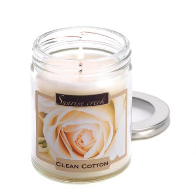 Clean Cotton Scent Candle