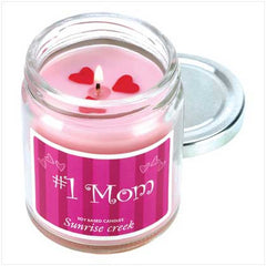 #1 Mom Jar Candle
