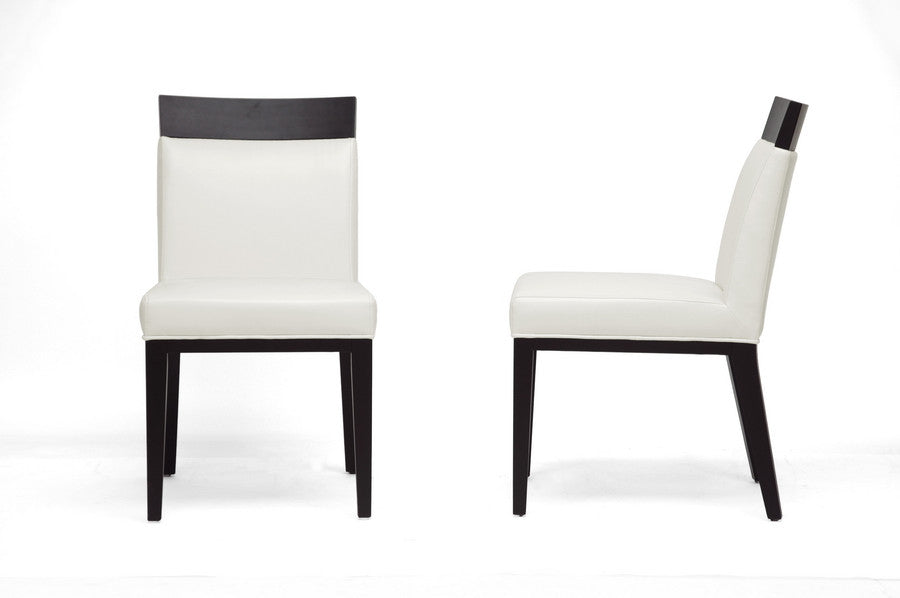 Baxton Studio Clymene Modern Dining Chair in Set of 2