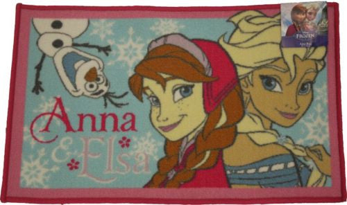 Childrens Area Rug, Bath Mat, Frozen Design