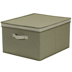 Extra Large Storage Box with Decorative Trim In Different Colors