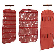 3-Piece Red Hanging Organizer Set In Different Colors