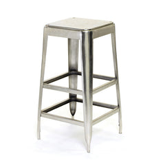 Maxwell Stool with Nickel Finish