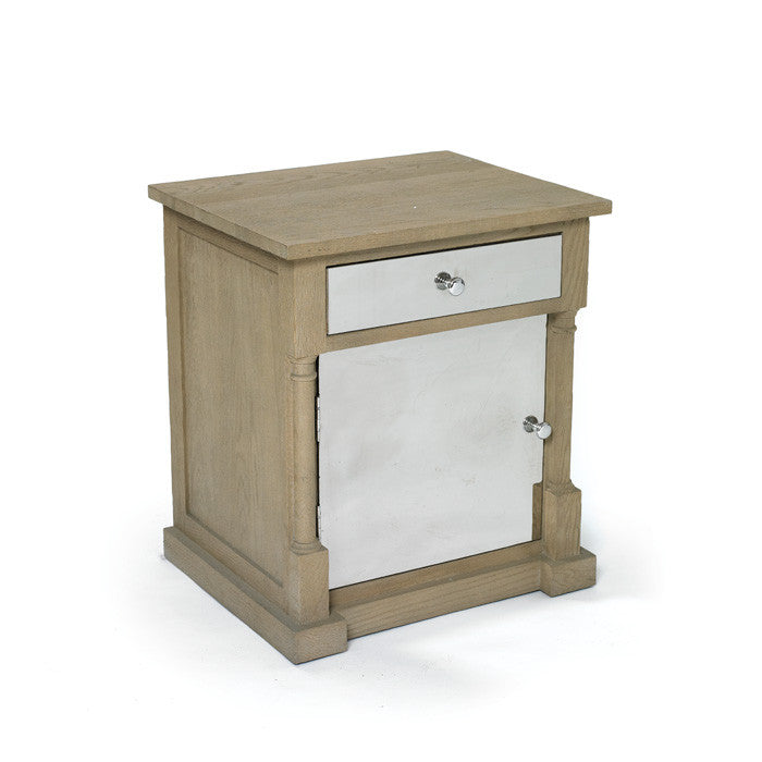 Harmon End Table with Polished Finish