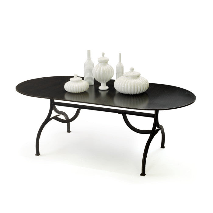Iron Communal Table with Powder Coated