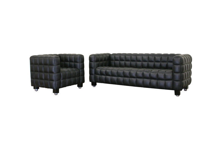 Baxton Studio Mdern Sofa and Chair 2-Piece Set