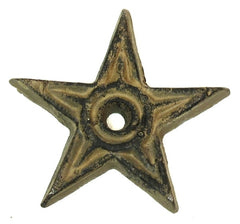 Cast Iron Star - Center Hole Small Set of 12