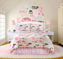 LITTLE DANCER COMFORTER SET IN DIFFERENT SIZES
