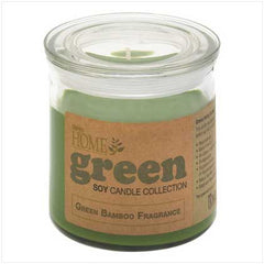 Green Bamboo Soy Candle