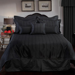 BRAXTON FULL SIZE COMFORTER SET IN BLACK