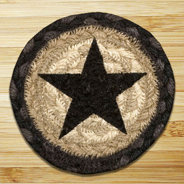 Black Star Individual Coaster