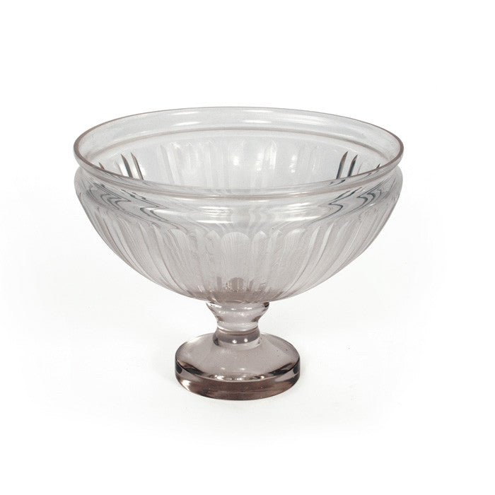 Ripples Glass Pedestal Bowl