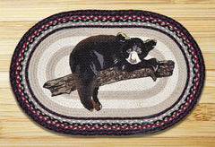 Baby Bear Oval Patch Rug