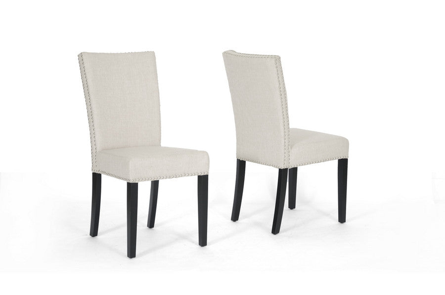 Baxton Studio Harrowgate Dining Chair in Set of 2