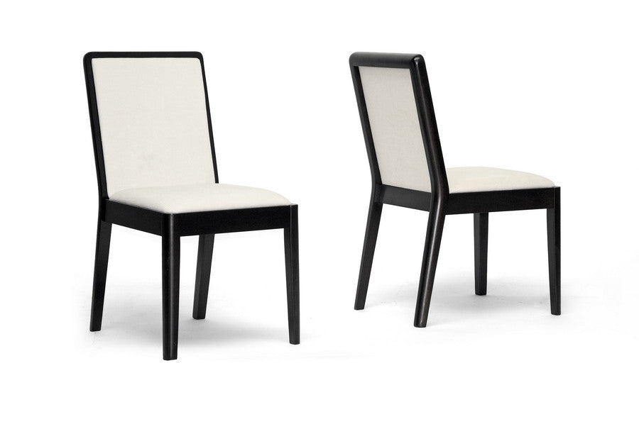 Baxton Studio Maeve Dining Chair in Set of 2