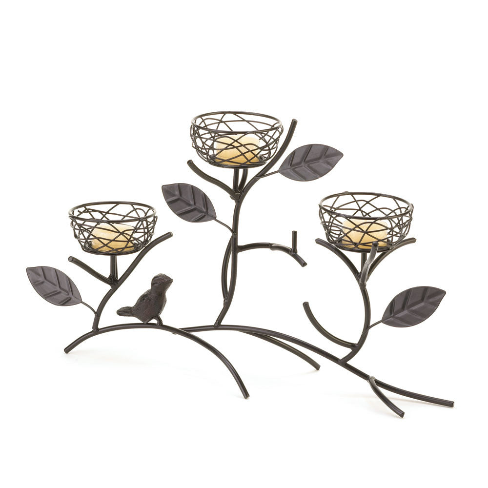 Nested Boughs Candle Holder