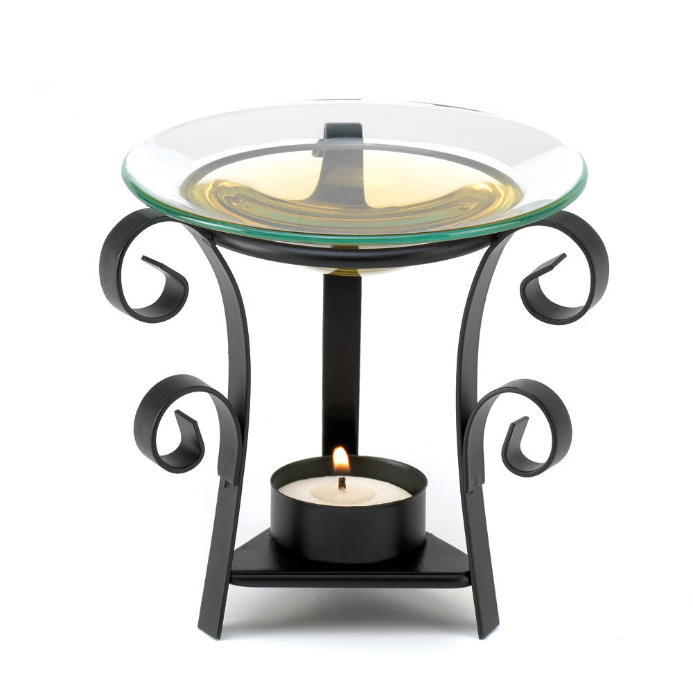 Curlicue Oil Warmer