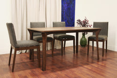 Baxton Studio Mier Brown Wood Modern Dining Table