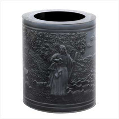 3-D Bible Scene Pen Holder