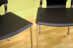 Baxton Studio Montclare Modern Dining Chair in Set of 2