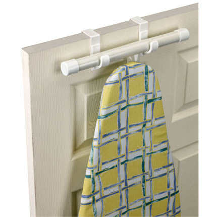 Over the Door T-Leg Ironing Board Holder