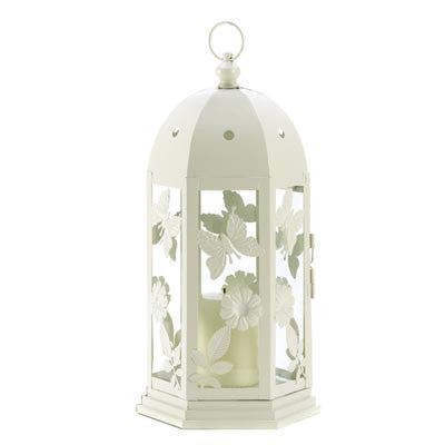 Butterfly Garden Candle Lantern