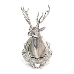 Aluminum Lodge Deer Head