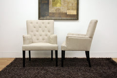 Baxton Studio Solana Modern Dining Chair in Set of 2