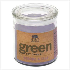 Berries & Sage Soy Candle
