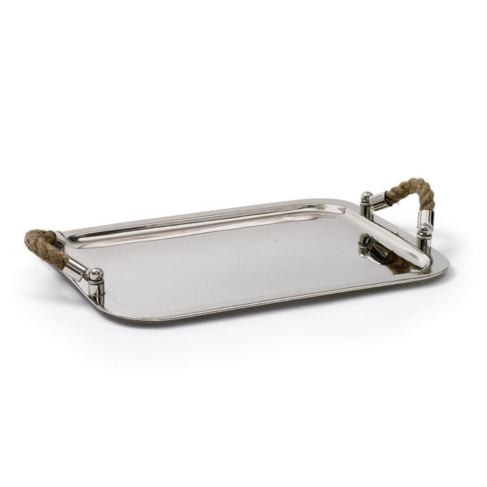 Nickel Polished Andromede Tray