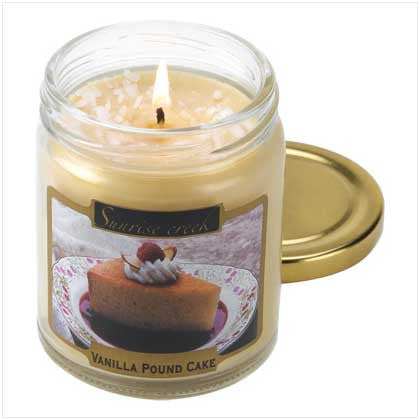 Vanilla Pound Cake Scent Candle