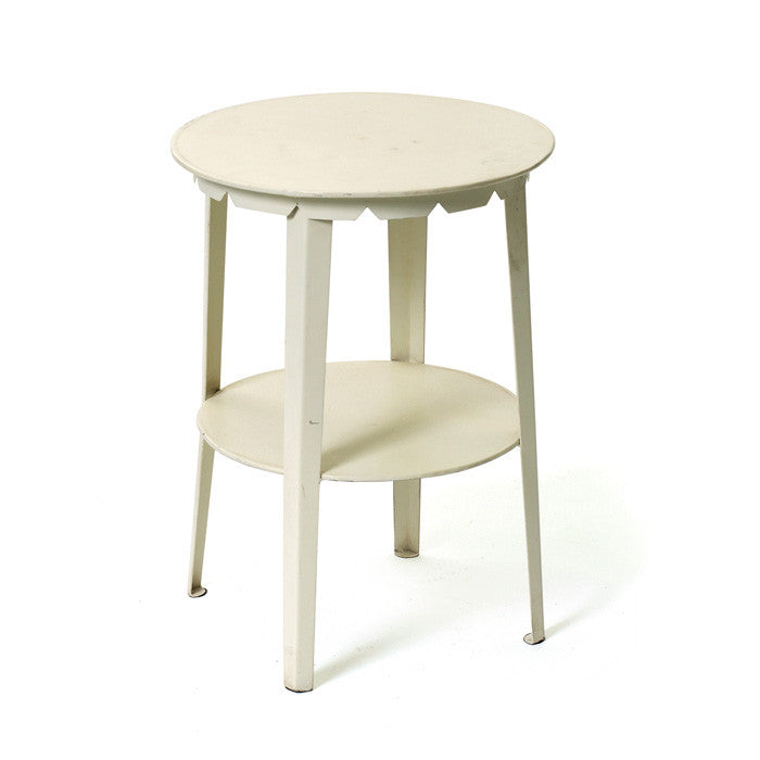 Iron Farmers Stool Sidetable