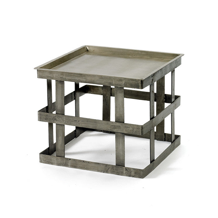 Steel Banded Occasional Table