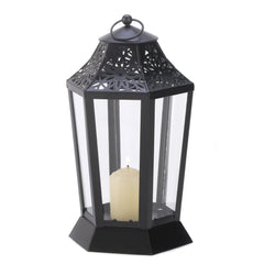 Midnight Garden Candle Lantern