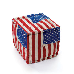 "16"" Square Anthem Pouf"