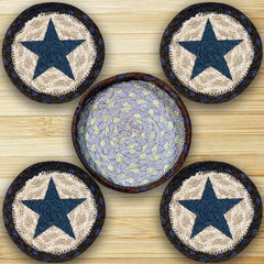 Blue Star Coasters