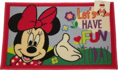 Childrens Area Rug, Bath Mat, Minnie Mouse Design