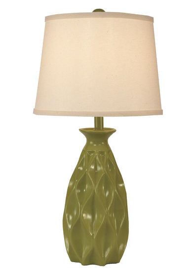 Eye Catching Tall Indented Diamond Lamp