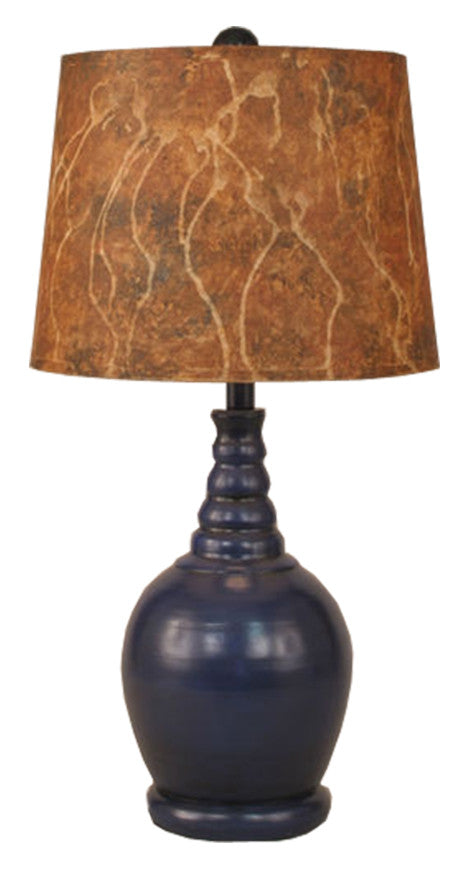 Morning Jewel Glaze High Gloss Finish Table Lamp