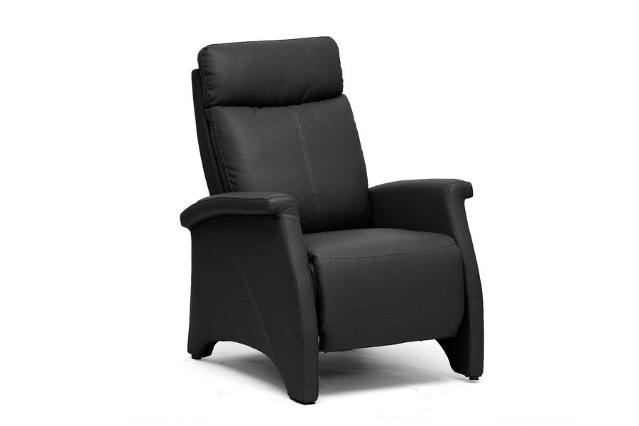 Baxton Studio Sequim Modern Recliner Club Chair