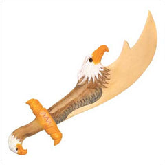 Wooden Eagle Spirit Sword
