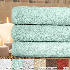 3 Piece Bath Towel Set in Different Colors